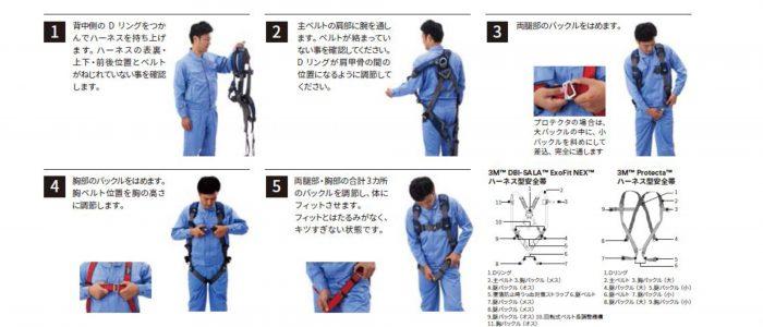 安全帯・墜落制止用器具